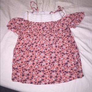 A floral top